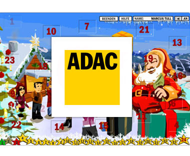 Adventskalender ADAC